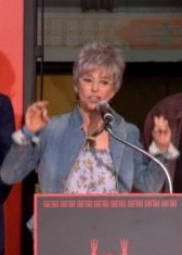 Rita Moreno at WEST SIDE STORY Hand and Foot Print Ceremony