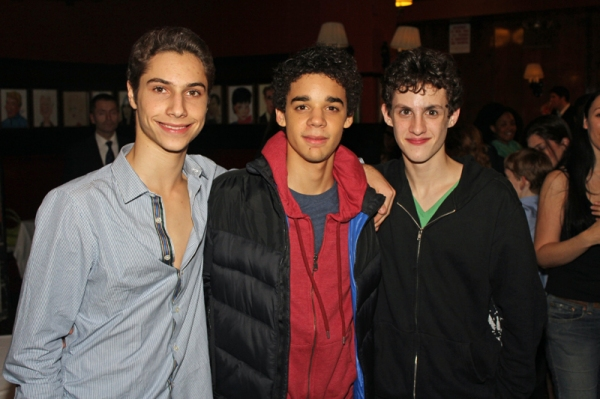 Kiril Kulish, David Alvarez, Trent Kowalik