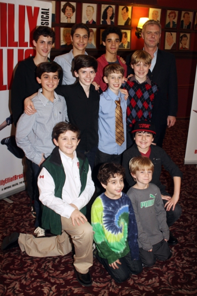 Photo Flash: BILLY ELLIOT Celebrates 3 Years on Broadway
