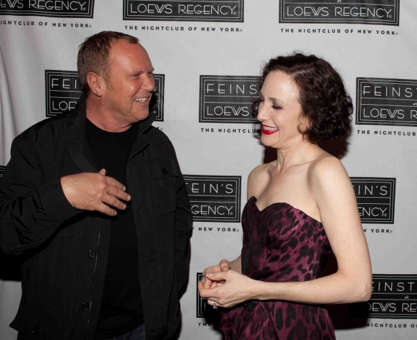 Michael Kors & Bebe Neuwirth at BWW Reviews: Bebe Neuwirth's 'Stories With Piano #3' Plays Feinstein's at Loews Regency