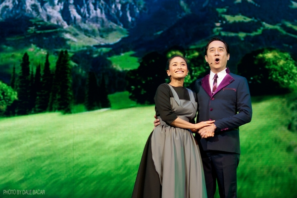 London-based actress Joanna Ampil and stage actor and director Audie Gemora topbill Resorts World Manila's production of the beloved musical Sound of Music; photo by Dale Bacar