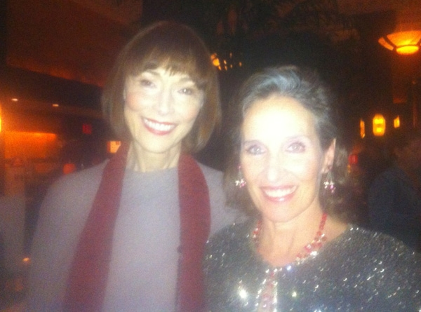 Karen Akers and Andrea Marcovicci  at Andrea Marcovicci Plays the Oak Room