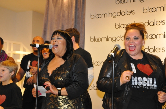 Martha Wash and Keala Settle at Midtown Men, Martha Wash, PRISCILLA Perform at  Bloomingdale's Holiday Window Unveiling