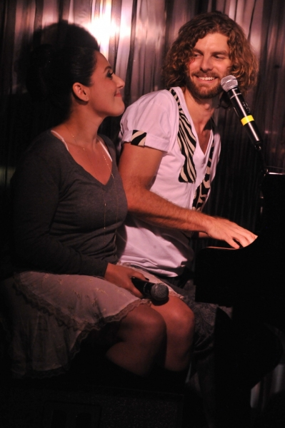 Ricki Lake and Lance Horne at Ricki Lake, Darren Criss, et al. Join Lance Horne in Concert!