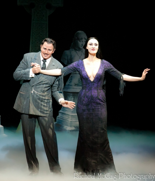 Douglas Sills and Sara Gettlefinger at THE ADDAMS FAMILY Opens in Toronto
