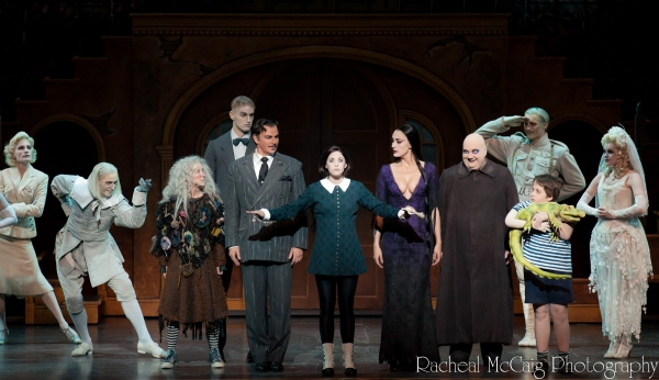 Photo Coverage: THE ADDAMS FAMILY Opens in Toronto