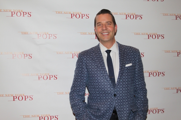 Photo Coverage: Backstage with Cheyenne Jackson at Carnegie Hall