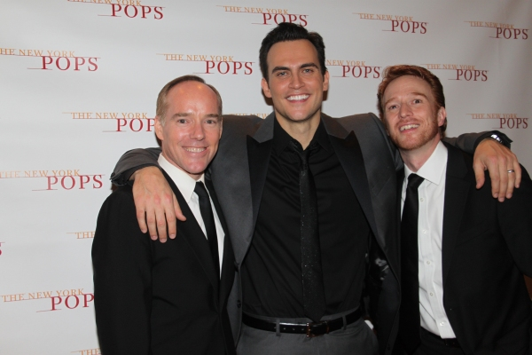 Michael Winthers, Cheyenne Jackson and Paul Castree