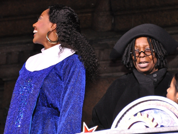 Patina Miller and Whoopie Goldberg