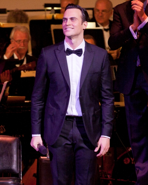 Photo Coverage: Cheyenne Jackson Performs at Carnegie Hall