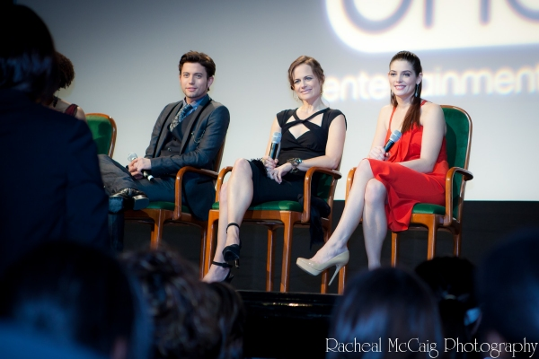 Jackson Rathbone, Sarah Clarke and Ashley Greene