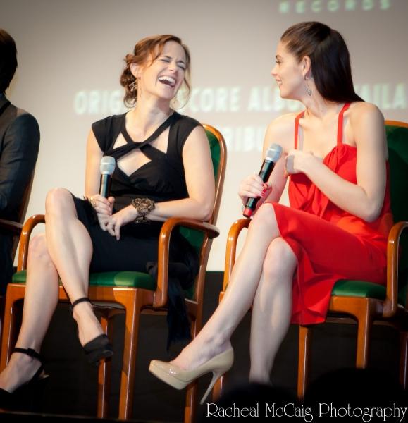 Sarah Clarke and Ashley Greene