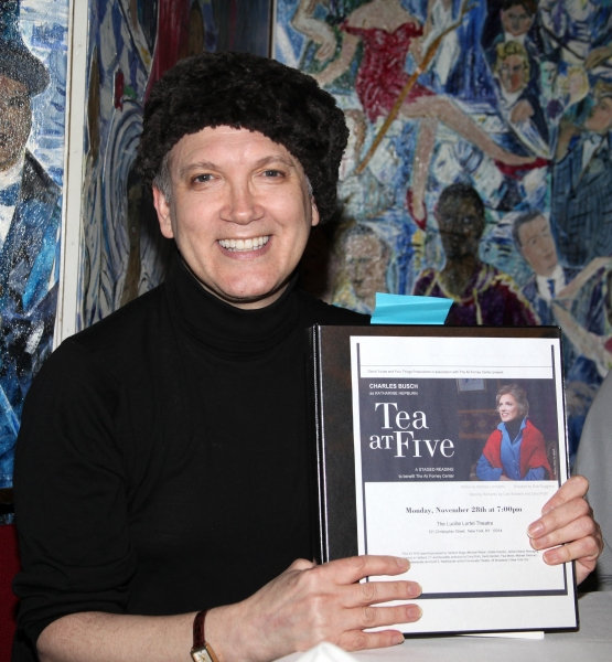 Photo Coverage: Charles Busch Hosts TEA AT FIVE Sneak Peek at Sardi's