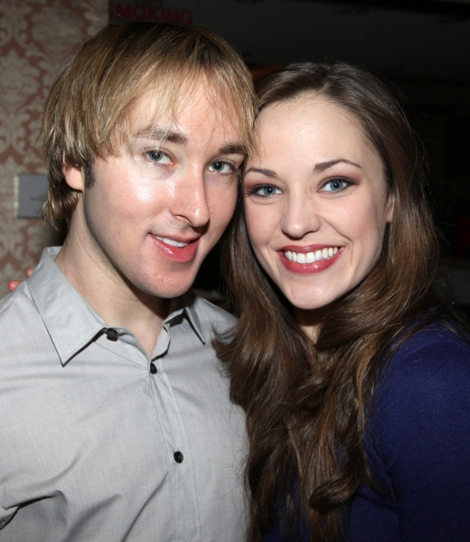 Michael Alden (Producer) & Laura Osnes