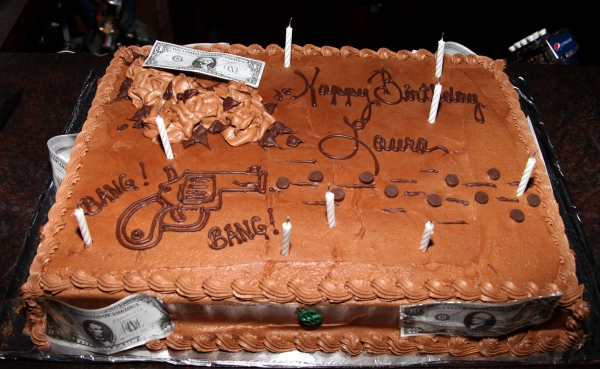 Photo Flash: BONNIE & CLYDE Birthday Pizza Party