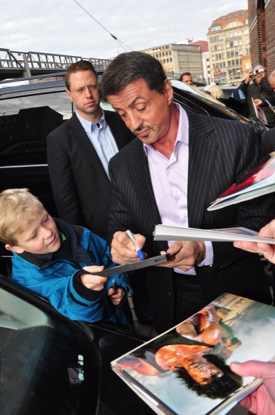 Sylvester Stallone  at Sylvester Stallone Promotes ROCKY Musical in Germany