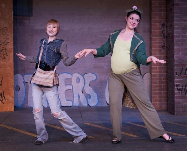 Mikaela Krantz (The Kid), Amy Elizabeth Jones (A Pea)