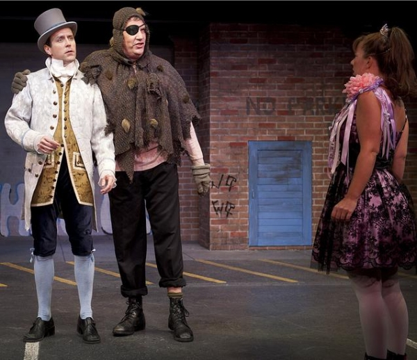 Brad Stephens (The Scarlet Pimpernel), Jim Johnson (The Ogre), Hannah McKinney (Princess Fartina)