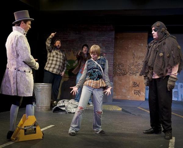 Brad Stephens (The Scarlet Pimpernel), Shane Strawbridge (Mack), Eric Dobbins (Frankie), Mikaela Krantz (The Kid), Jim Johnson (The Ogre)