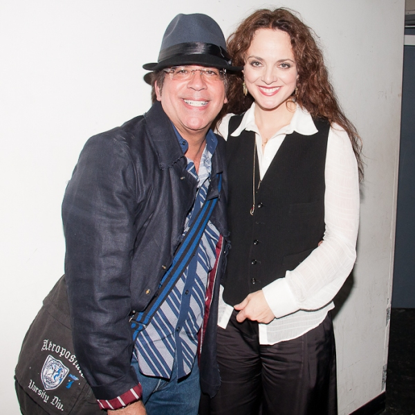 Richard Jay-Alexander and Melissa Errico