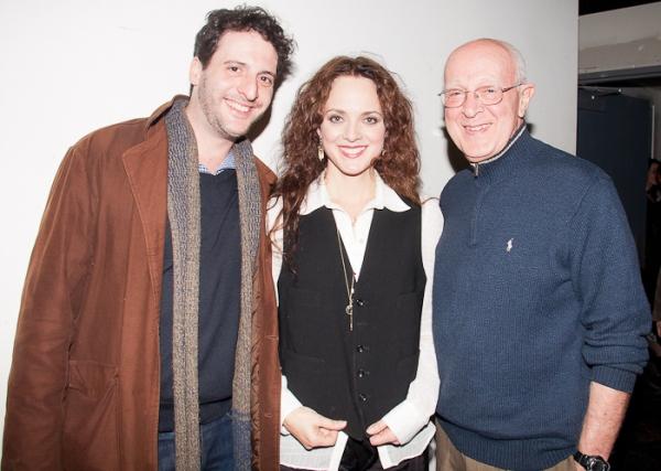 Noah Cornman, Melissa Errico and Michael Errico  Photo