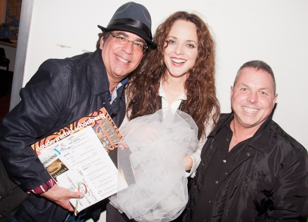 Richard Jay-Alexander, Melissa Errico and Matt Berman