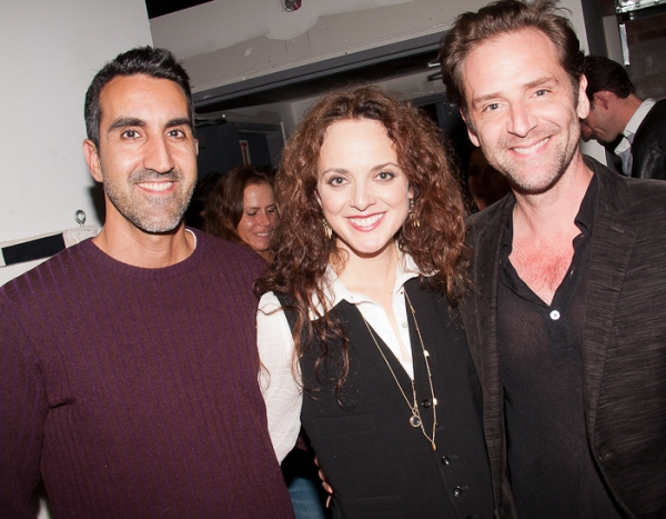 Dominic Albanese, Melissa Errico and Malcolm Gets