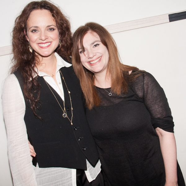 Melissa Errico and Erica Gould