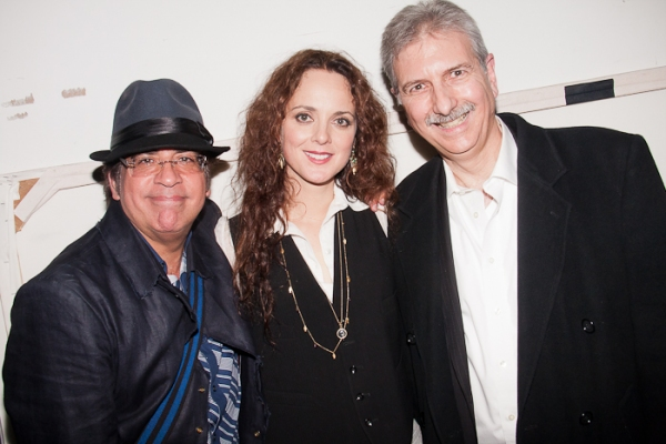 Richard Jay-Alexander, Melissa Errico and John Oddo