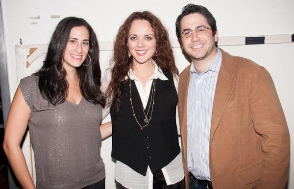 Jennifer Diamond, Melissa Errico & Rob Diamond  Photo