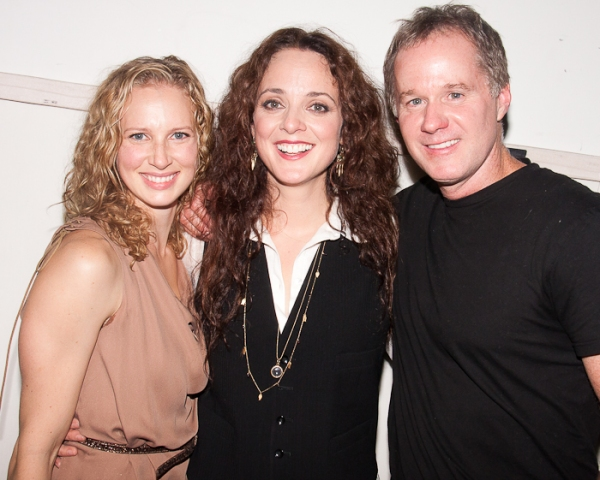 Meryn Anders, Melissa Errico & Patrick McEnroe  at Melissa Errico Sparkles at Joe's Pub