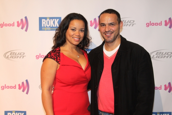 Kimberley Locke and Ruben Flores
