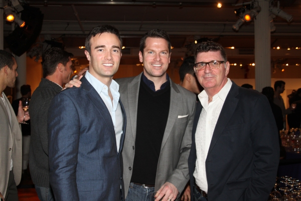Patrick Abner, Thomas Roberts and Pete Sanders
