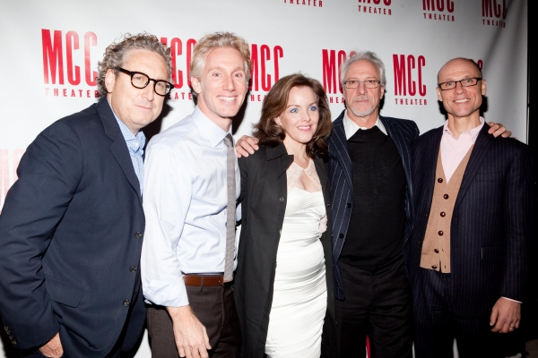 Bernard Telsey, Blake West, Alice Ripley, Robert LuPone and William Cantler Photo