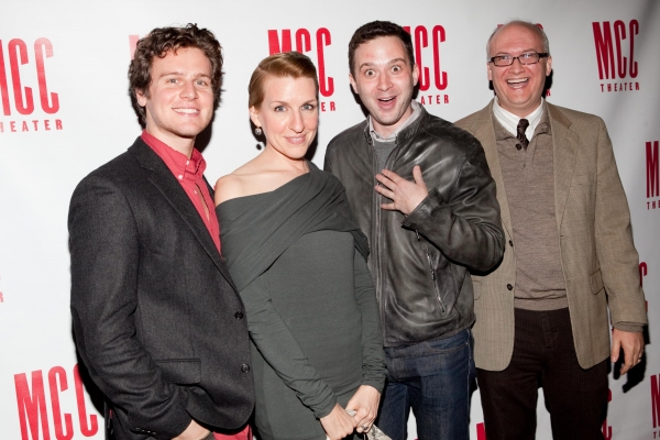 Jonathan Groff, Susan Blackwell and Eddie Kaye Thomas
