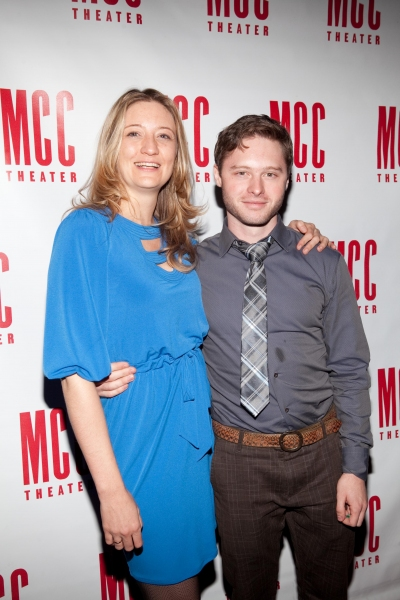 Heidi Schreck and Bobby Steggert at Alice Ripley Opens in MCC's WILD ANIMALS YOU SHOULD KNOW