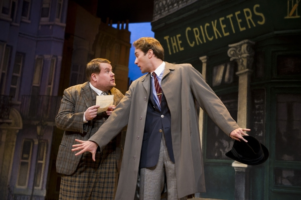 Photo Flash: Pre-Broadway One Man, Two Guvnors in the West End