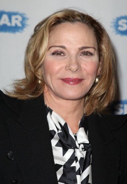 Kim Cattrall  at SEMINAR Starry Opening Night Theatre Arrivals