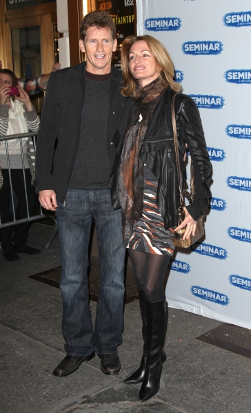 Denis Leary & wife