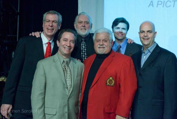 Temple President Dan Feld & Cast
