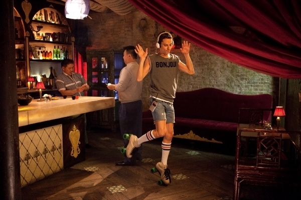 Photo Flash: First Look at Sean Parick Doyle in THE SITTER!