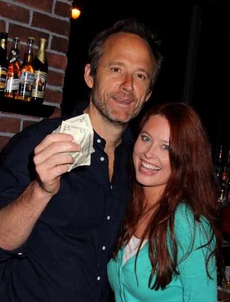 John Benjamin Hickey & Melissa Archer