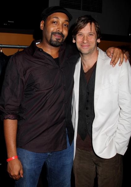 Jesse L. Martin & Roger Howarth Photo