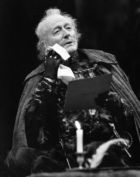 John Neville as Don Armado in Love's Labour's Lost