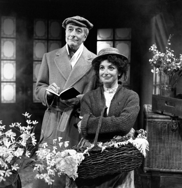 John Neville and Lucy Peacock in My Fair Lady