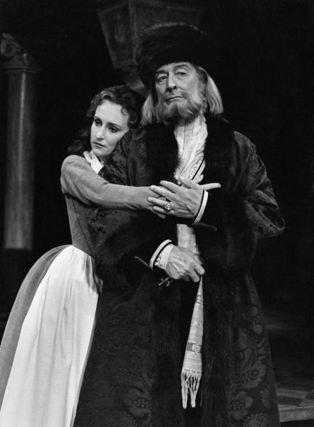 John Neville and Seana McKenna in The Merchant of Venice