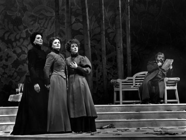 Lucy Peacock, Wenna Shaw, Sally Cahill and Bernard Hopkins in Three Sisters (John Nev Photo