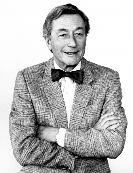 1986 John Neville headshot by Jane Edmonds Photo