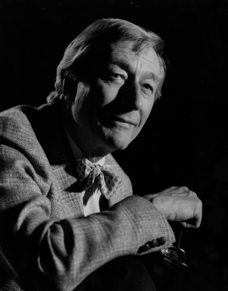 1986 John Neville headshot by Robert Cragsdale Photo
