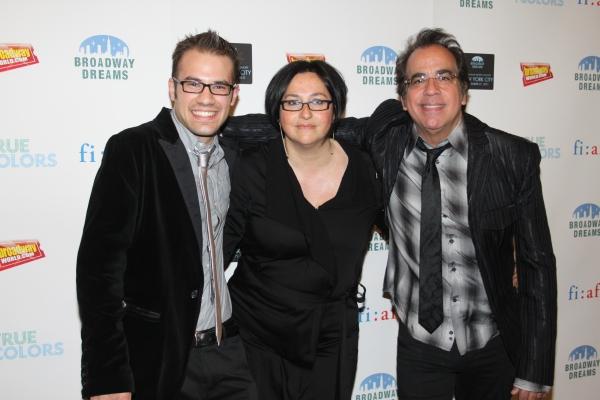 Jake McCoy, Annette Tanner and Richard Jay-Alexander